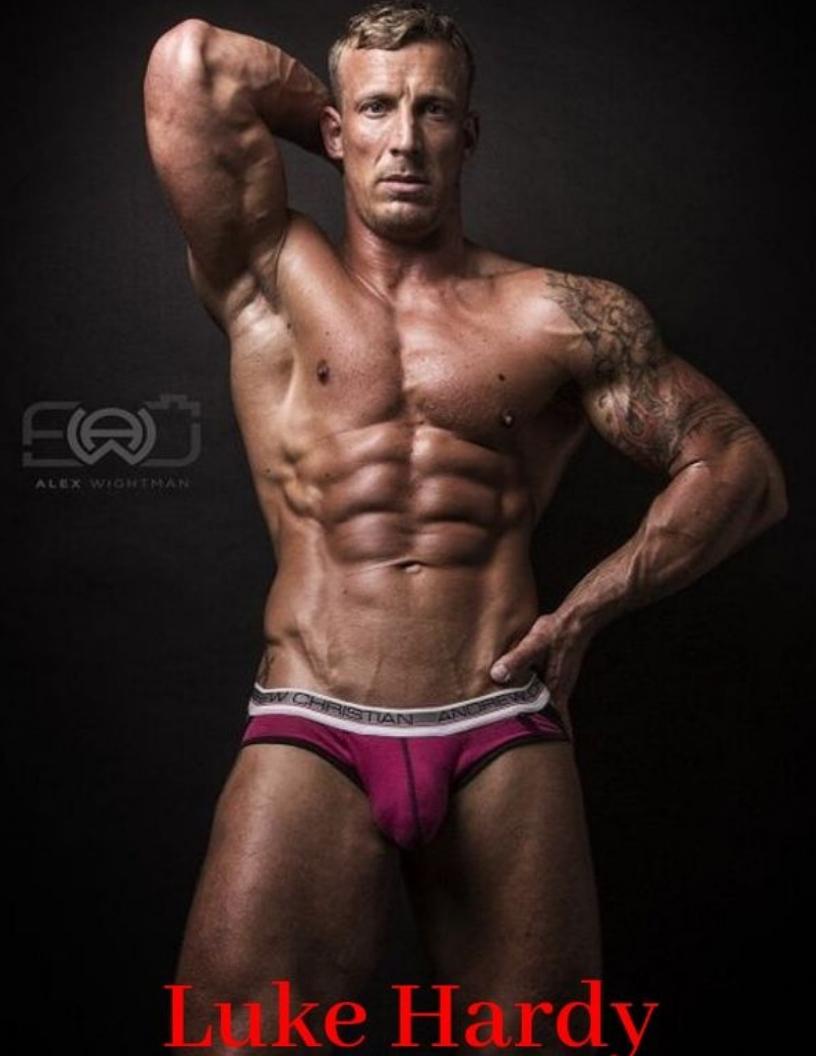 Pornstud Luke Hardy